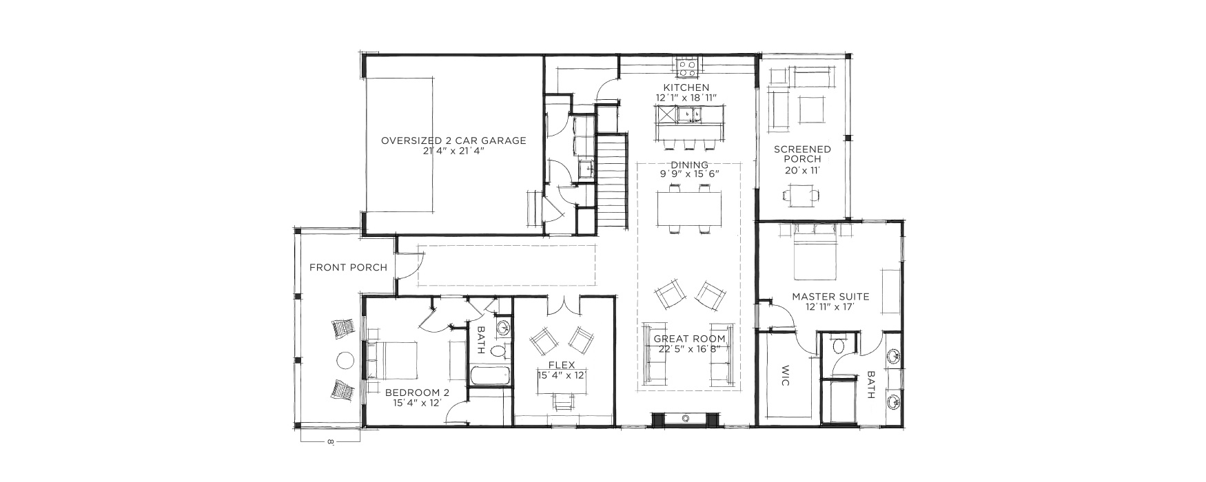 Retreat Floorplan | Mystic Pines | Gahanna, OH